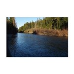 Eel River at Holbrook Grove Mini Poster Print