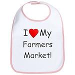 Heart Farmers Market Bib