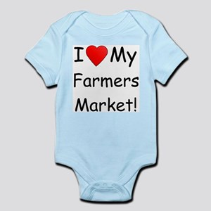 Heart Farmers Market Infant Creeper