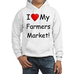 Heart Farmers Market Hooded Sweatshirt