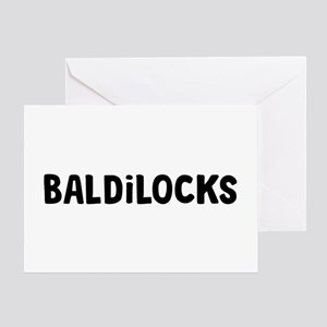 Baldilocks Greeting Card