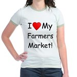 Heart Farmers Market Jr. Ringer T-Shirt