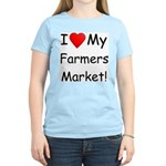 Heart Farmers Market Women's Pink T-Shirt
