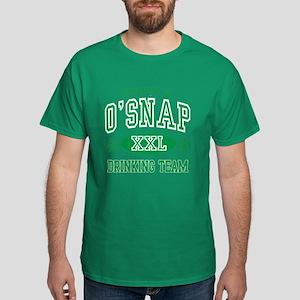 O'Snap Irish Drinking Team Dark T-Shirt