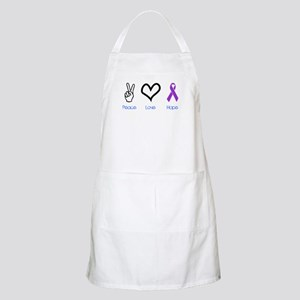 Peace Love Hope BBQ Apron