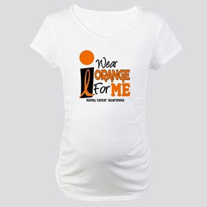 I Wear Orange For Me 9 KC Maternity T-Shirt