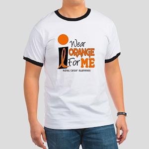 I Wear Orange For Me 9 KC Ringer T