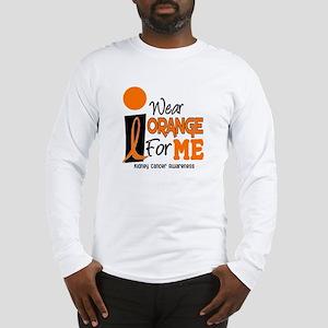 I Wear Orange For Me 9 KC Long Sleeve T-Shirt