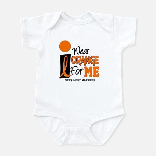 I Wear Orange For Me 9 KC Infant Bodysuit