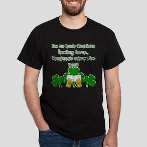 Irish Canadian Hockey Lover Dark T-Shirt