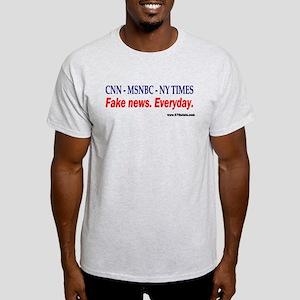 CNN - MSNBC - NY TIMES Light T-Shirt