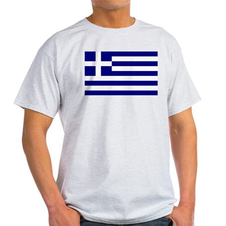 Greece Flag Light T-Shirt