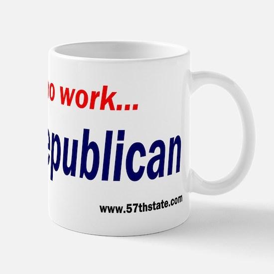 Republican voters Mug