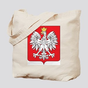 Poland Coat Of Arms Tote Bag