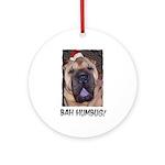 BAH HUMBUG HUMOROUS Ornament (Round)