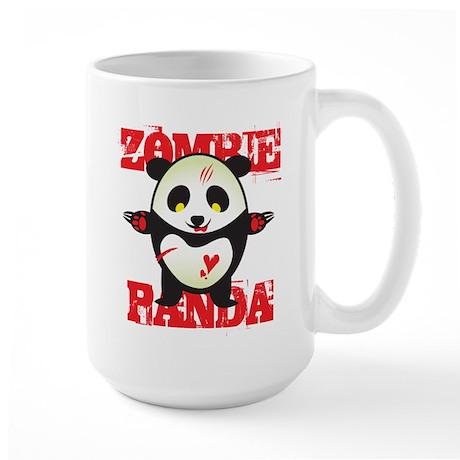 Zombie Panda Large Mug