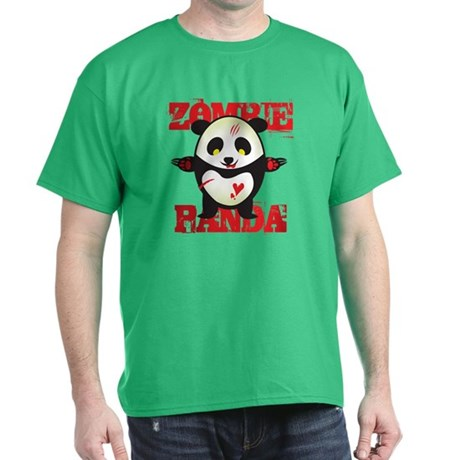 Zombie Panda Dark T-Shirt