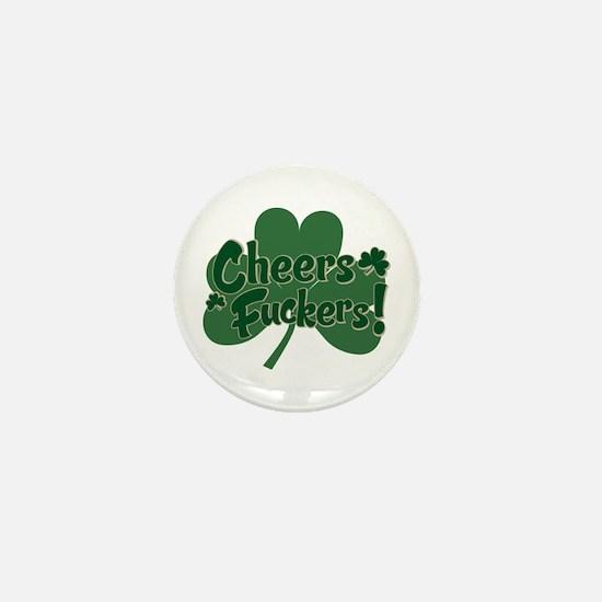 Irish Toast Mini Button