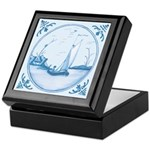 Sailboat Decorative Keepsake Box