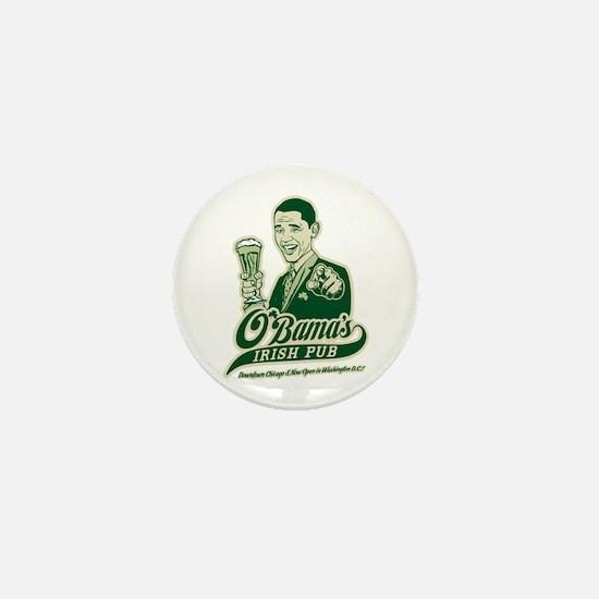 Obama's Irish Pub Mini Button