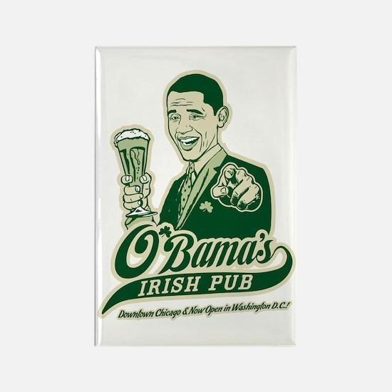 Obama's Irish Pub Rectangle Magnet