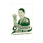Obama's Irish Pub Rectangle Sticker 50 pk)