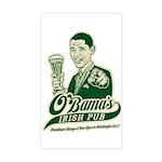 Obama's Irish Pub Rectangle Sticker