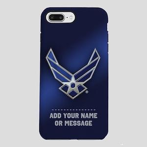 PERSONALIZED U.S. Air Force Logo iPhone 7 Plus Tou