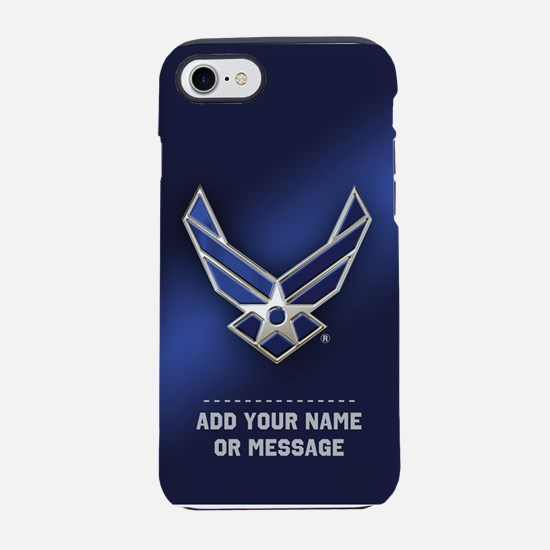 PERSONALIZED U.S. Air Force Logo iPhone 7 Tough Ca