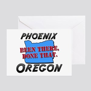 phoenix oregon - been there, done that Greeting Ca