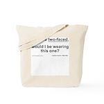 When pleasure interferes... Tote Bag