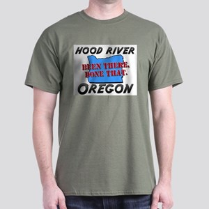 hood river oregon - been there, done that Dark T-S