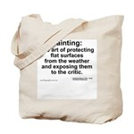 Painting: art of protecting... Tote Bag