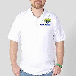 Retired School Teacher . Golf Shirt