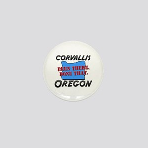 corvallis oregon - been there, done that Mini Butt