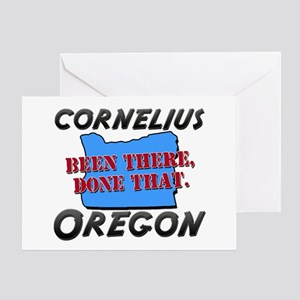 cornelius oregon - been there, done that Greeting