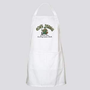 Gone Fishing - Hunting Season BBQ Apron