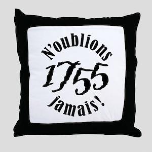 1755 Throw Pillow