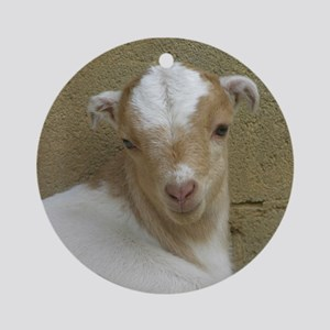 I Love Baby Goats Ornament (Round)