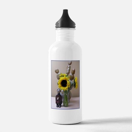 Sunflower Ceramic Water Bottle