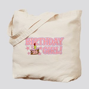 Birthday Girl 21 Tote Bag