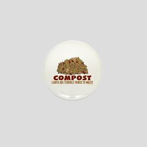 Composting Mini Button