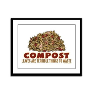 Composting Framed Panel Print