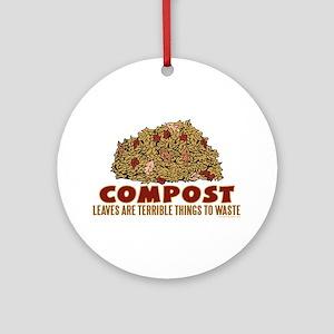 Composting Ornament (Round)