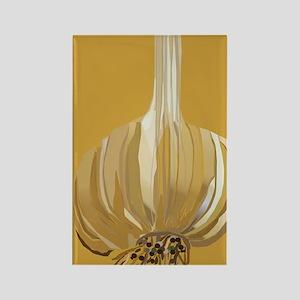 Garlic Rectangle Magnet