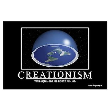 """Creationism"" (Un-) Inspirational Large"