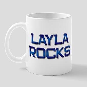 layla rocks Mug