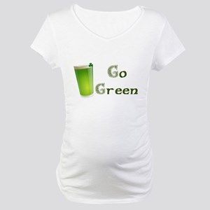 Go Green Irish Maternity T-Shirt