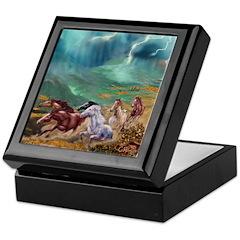 Wild Horses Keepsake Box