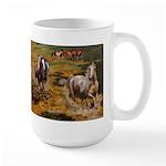 Wild Horses Large Mug